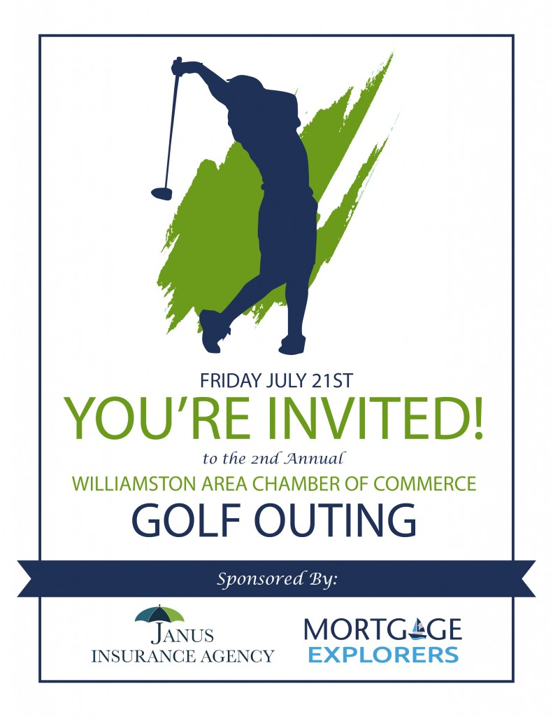 Golf Outing Promotional Flyer Front Web
